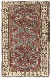 An unusual Shirvan rug