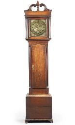 A George III oak eight day lon