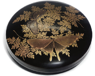 A Japanese Lacquer kogo
