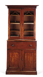 A EARLY VICTORIAN SECRETAIRE B
