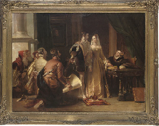 The offer of the Crown to Lady