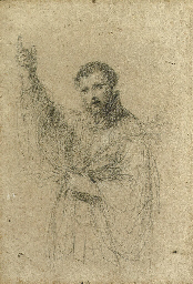 Saint Francis Xavier holding a