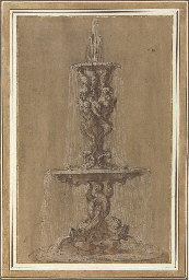 Design for a fountain with con