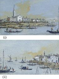 Two views of San Giorgio in Al