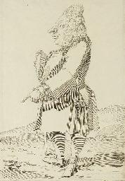Caricature of Baron Monbira