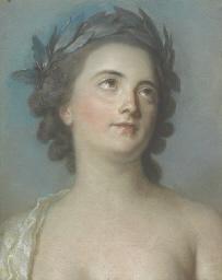 Presumed portrait of Mademoise