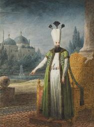 Portrait of Sultan Abd-ul Hami