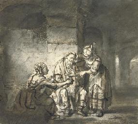 Lot and his Daughters (Genesis