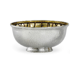 A FRENCH SILVER BOWL