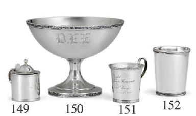 A SILVER JULEP CUP OF SOUTHERN