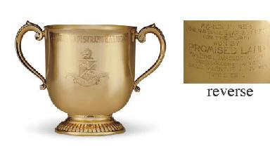 A GOLD TROPHY CUP: SAN JUAN CA
