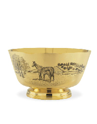 A GOLD TROPHY BOWL: THE DELAWA