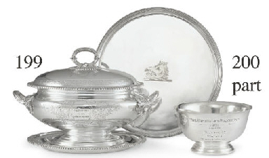 A VICTORIAN SILVER TROPHY TURE