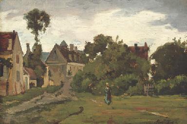 Paysage à Auvers