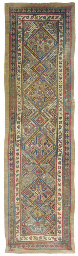 An antique Serab runner & anti