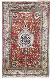 A very fine Qum rug