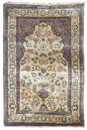 A fine silk Kashan Haschemi Po