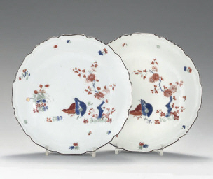 A PAIR OF MEISSEN KAKIEMON SAU