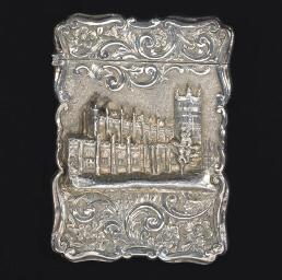 A Victorian silver