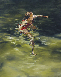 Woman Treading Water