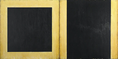 Untitled (Black Wall Painting)