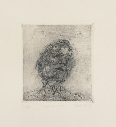 Lucian Freud, from Six Etching