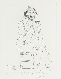 Portrait of Richard Hamilton (