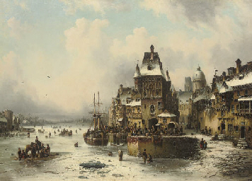 A winter quay