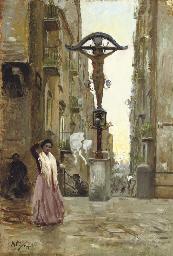 Street scene in Naples