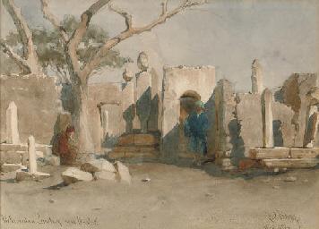 The Mohamedan Cemetery near Bo