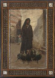 An Eastern beauty in the souk