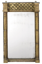 A REGENCY GILTWOOD AND GESSO P
