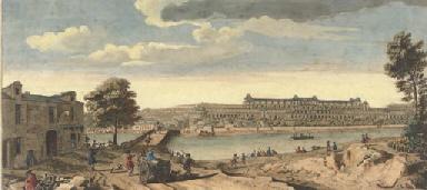 Vue du Chateau Neuf de S. Germ