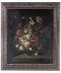 Roses, poppies, snowdrops, nar