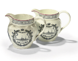 A PAIR OF ADMIRAL SIR DAVID BE