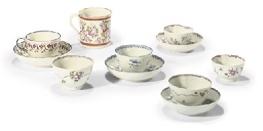 AN ENGLISH PORCELAIN INITIALLE