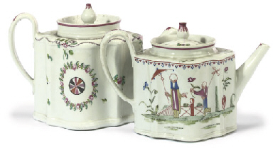 TWO NEW HALL TEAPOTS AND COVER