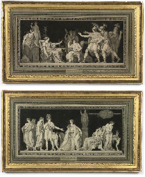 A PAIR OF FRENCH LITHOGRAPHS O