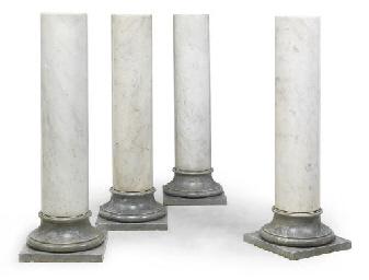 A SET OF FOUR ITALIAN WHITE AN