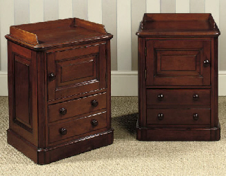 A NEAR PAIR OF LATE VICTORIAN