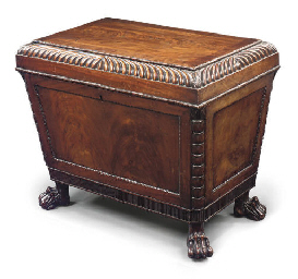 A SCOTTISH REGENCY MAHOGANY CE