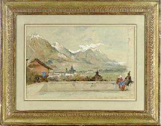 Vue d'Innsbruck