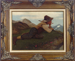 Boy in the Alps