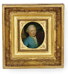 Portrait of a gentleman in a l