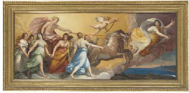 Aurora: Apollo in his chariot