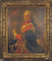 Portrait of a nobleman, half l