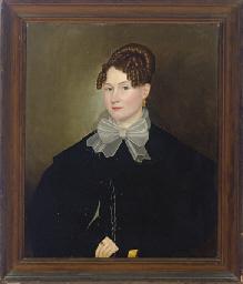 Portrait of a woman, three-qua