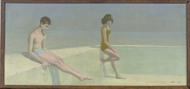 Boy and Girl on Beach