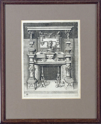 [Design for a fireplace]: and