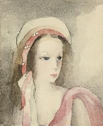 Jeune fille au turban perlé ro